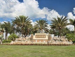 Heritage Bay Condo – wonderful gated golf and tennis community