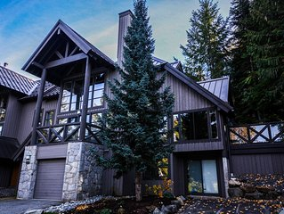 5 Bedroom Ski-in/Ski-out on slopes of Blackcomb