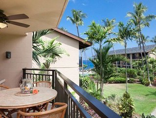 Gorgeous Oceanfront paradise condo, walk downtown