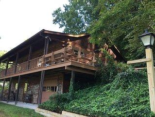 The Bald Spot-A Log Cabin Home