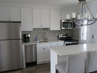 Gorgeous Renovated 1 Bedroom, 1 Bathroom Condo Across from the Beach