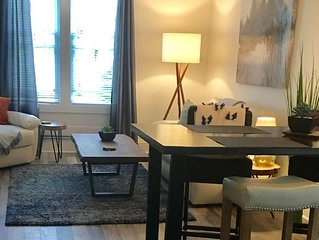 Bright and modern downtown one bedroom with water view
