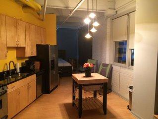 Unique, Comfortable, Fun, Private, Downtown Accommodation