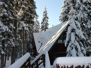 Cabin In The Woods (Tahoe Vista/North Lake/Kings Beach)