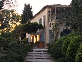 Secluded Bastide In Provence, St Remy / Fontvieille Area
