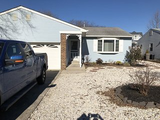 Cozy Cape May Rental 3 bedroom, 1 1/2 baths (Pet Friendly)
