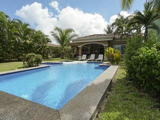 Oceanfront 3BR Villa with Private Pool on Playa Hermosa just 5 mins form Jaco