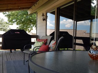 Family Retreat with View of Lake Conroe