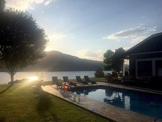 Pool - Okanagan Dream home - infinite views of Skaha Lake