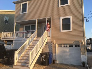 Brand new home with large deck . Plenty of off street parking . Ortley beach nj