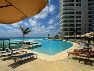 Cancun Beach Front Luxury Condominium