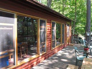 Charming cottage on Upper Rideau Lake near Westport, ON