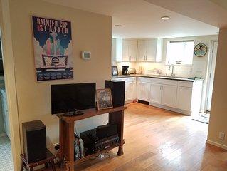 Modern spacious apartment in Seattle's historic Mount Baker neighborhood