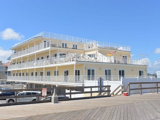 Oceanfront Seaside Heights Boardwalk Penthouse