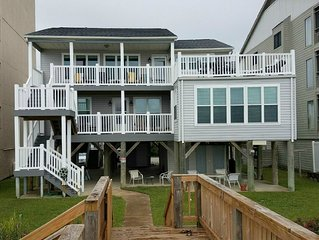 Beachfront rental property in beautiful Garden City Beach, SC.
