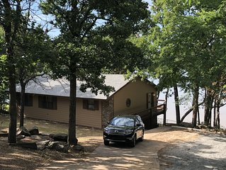 Rustic Lakefront Cabin With Incredible Views of Lake Eufaula