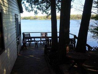 Moira Lake's Cedar Cove Cottage - Fish, Swim, Relax, Enjoy -Your Private Getaway