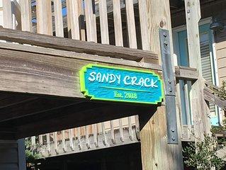 Sandy Crack - A 'side-road' surf cottage