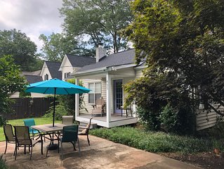 Pet-friendly home steps to Downtown, Parks, Swamp Rabbit Trail & Augusta Road