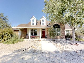 Convenient Hill Country home in San Marcos, Texas