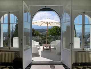 Luxury Basque Apartment - South facing with terrace, garden and BBQ area.