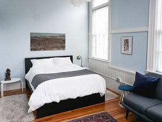 19th Century Spacious Schoolhouse Apartment