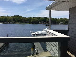 Pentwater Condo with beautiful views right on the Lake