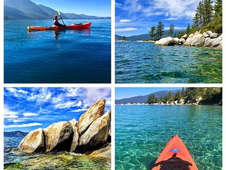 Lovely 4 bedroom cabin is centrally located in Incline Village, Lake Tahoe.