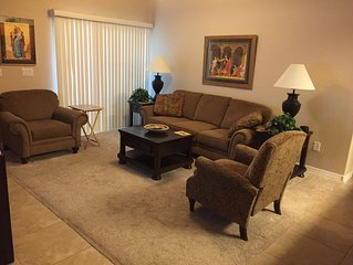 Peaceful condo in gated community.Apartment style,main floor.