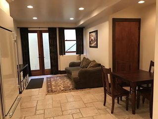 Apartment in basement.  Perfect location!