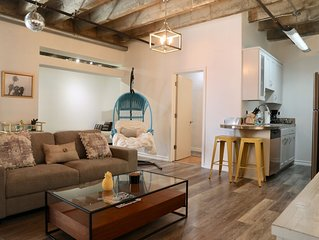 Live in the heart of Downtown LA! 1,000 SF private DTLA condo loft.