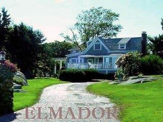 Ocean Views from every room! ELMADOR Cottage 3 br- weekly summer rentals
