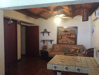 Casita with nice views with spacious gated outside parking and/or play area.