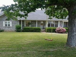 Mountain Top Home Next Door to River Concessions & Kyles Landing!