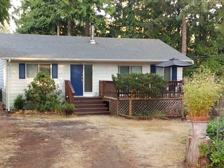 2 br. 1200  Pender Island Vacation house rental