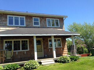 Stanhope Beach House in peaceful PEI - two unit duplex, 5 bedrooms total