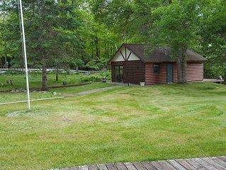 Cozy Cabin on Blackwater Lake near Longville, MN