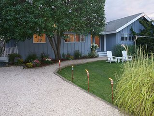 Beach House! Amazing house on private road in Amagansett, NY.