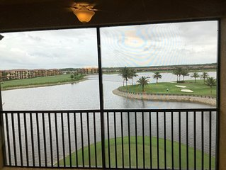 Bonita National 2/2 Condo top floor stunning views