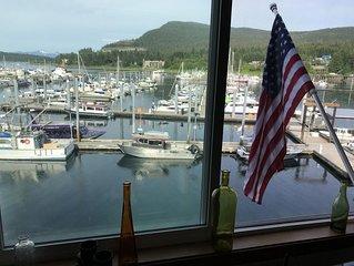 Auke Bay Harbor view house