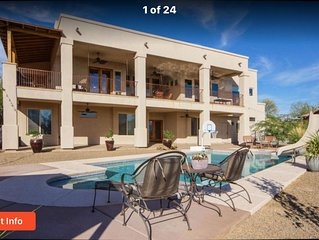 Sunset Beauty NW Tucson Lock off Ground level 3 bedroom with Pool