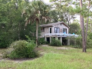 Guest Cottage in Perdido Beach away from the crowds, traffic and condominiums!