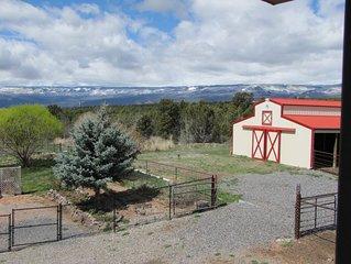 ROSIE KNIGHT RANCH Near the Grand Mesa in Western Colorado.