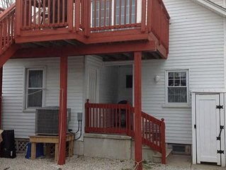 2 bedroom 1 bath condo East Side of 21st and New Jersey Ave