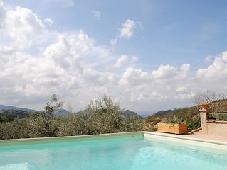 Rome farmhouse with pool in Sabine Hills near Spoleto Todi Orvieto Rome Farfa