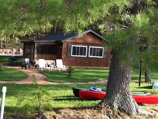 Cabin #4 Three Season Lakefront Cottage