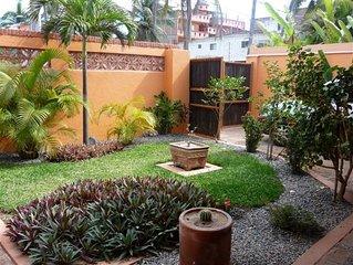 4 bedroom, 5 bathroom beach front villa
