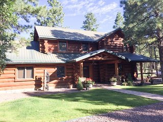 Dana Rosa True Log Home In The Pines