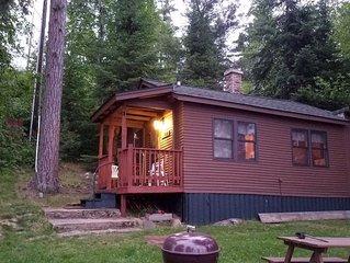 Vintage Vermilion – Cabins and Retreat. (Aspen Cabin) Beautiful Lakeside Cabins
