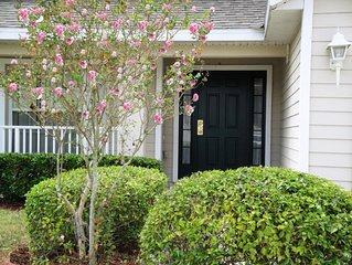 4 bedroom pool home with conservation view on gated golf community of Remington